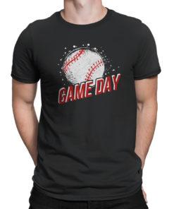 Gift for Mom T-Shirt Softball Life Game Day Baseball Baseball Life